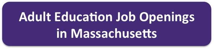 Adult Education Job openings in Massachusetts